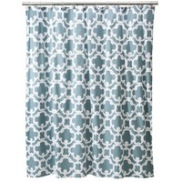 Threshold™ Home Grid Shower Curtain