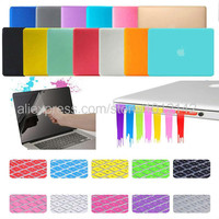 "4in1 Matte Hard Crystal Glossy Case Cover + Keyboard Skin + Screen Protection + Dust plug For 11"" 13"" 15"" Macbook Air Pro Retina"