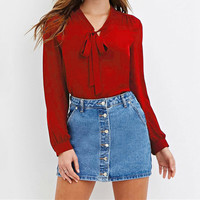 Fashion Tassel Long Sleeve Tops