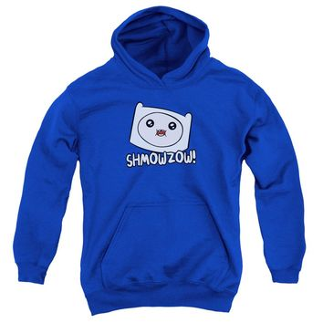 Adventure Time - Shmowzow Youth Pull Over Hoodie
