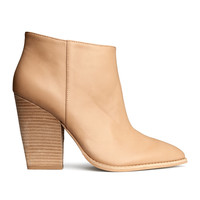 H&M - Ankle Boots - Beige - Ladies
