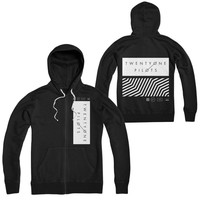 Tracksuit New Fashion Slim Mens Hoodie and Sweatshirts Twenty One Pilots Blurryface Print Black Casual Winter Shark Hoodie