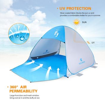 Automatic Pop Up Beach Tent (2-4 persons)