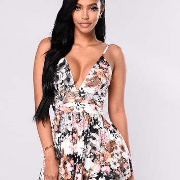 Melody Romper - Floral