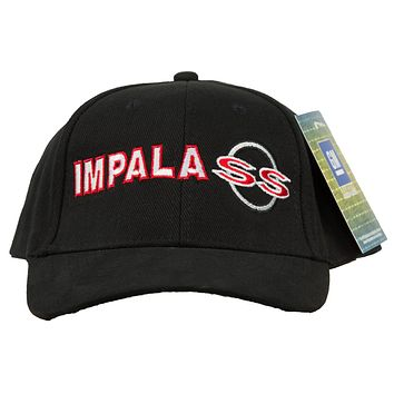 Chevy Impala SS Hat Embroidered Cap