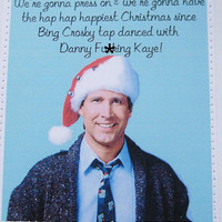 Mature funny Christmas Vacation movie quote card by dandee on Etsy