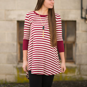 Pretty Stripes T-Shirt Dress
