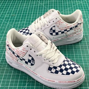 Nike Air Force 1 07 Low Af1 Colorful Cream Sport Shoes Sale
