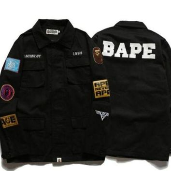 ONETOW BAPE SHIRT JACKET