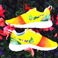 Nike Roshe Run Gradient Tropical ( ART ONLY Please provide shoes)