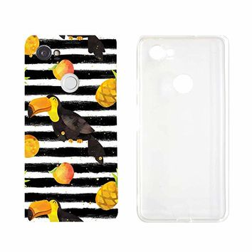 Cute Tucan Phone Case Google Phone Pixel 2 Google Phone Covers Emerishop (Google Pixel 2)