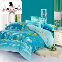 Spongebob Square Pants Ocean Bedding Set and Quilt Cover