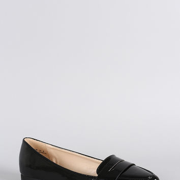 Bamboo Penny Loafer Flat
