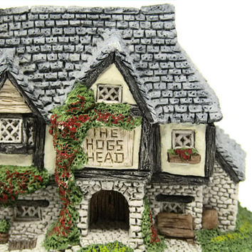 Hogs Head Beer House David Winter Cottages 1985 Tudor Style Alehouse Pub Sculpture