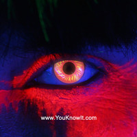 i-Glow Wolf Eye Contact Lenses (Pair)