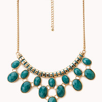 FOREVER 21 Posh Statement Bib Necklace