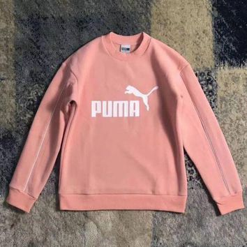 ESBUP0 PUMA Fashion Print Pullover Tops Sweater Sweatshirts