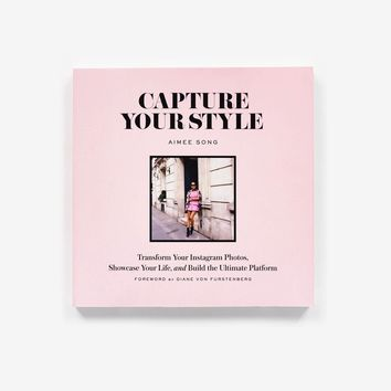 Capture Your Style, Aimee Song Coffee Table Book
