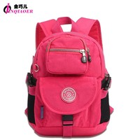 JINQIAOER Preppy College Style Small Backpack For Teengers Mochilas Waterproof Nylon Backpack Women Knapsack Student School Bag
