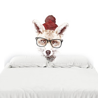 Cold Outside Headboard Decal