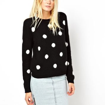 Just Female Spot Sweater