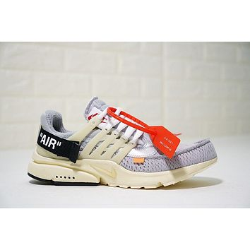 Virgil Abloh Off White X Nike Air Presto Ow Aa3830 002 Size 40 45 | Best Deal Online