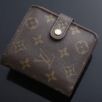 G5691M Authentic Louis Vuitton Monogram Bifold Wallet