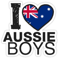 I HEART AUSSIE BOYS by Dan Ron Eli Alvarez