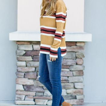 Around The City Sweater - Camel