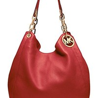 Michael Michael Kors Fulton Large Leather Shoulder Tote Michael Kors bag