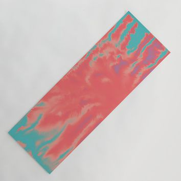 summer sultry Yoga Mat by duckyb
