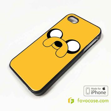 FINN AND JAKE 3 Adventure Time iPhone 4/4S 5/5S/SE 5C 6/6S 7 8 Plus X Case Cover