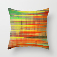 Fun Throw Pillow by SensualPatterns