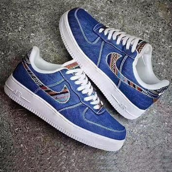 Nike Air Force 1 '07 LV8 'Afro Punk Pack'-Navy