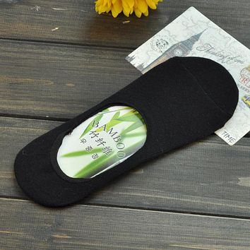 5pairs/lot Men's Style Invisible Slipper Socks