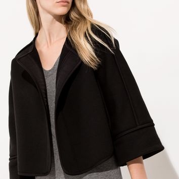 Women's Cashmere Wrap Coat | Olivia Wrap | Kit and Ace
