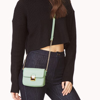 Easy Faux Leather Crossbody