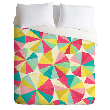 Jacqueline Maldonado Raincatchers Duvet Cover