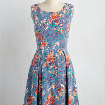 I Rest My Grace Dress in Abstract | Mod Retro Vintage Dresses | ModCloth.com