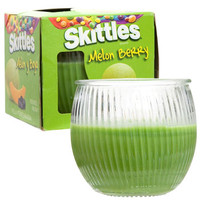 Bulk Skittles Melon-Berry-Scented Jar Candles, 3 oz. at DollarTree.com