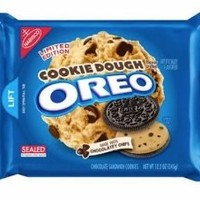 Oreo - Cookie Dough Flavor Creme Filling Sandwich Cookies 10.7oz Packet