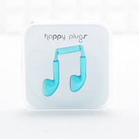 Happy Plugs Headphones in Turquoise - Urban Outfitters