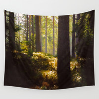 it has found you... Wall Tapestry by HappyMelvin