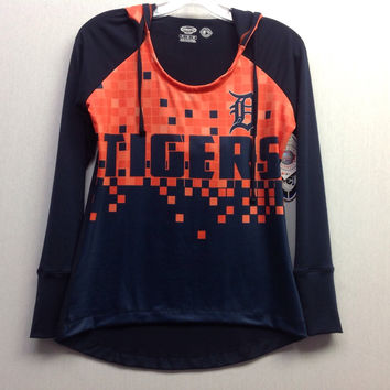 MLB Detroit Tigers Women's Catalyst Hooded Top