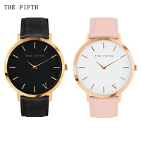 The fifth brand mesh watch simplicity classic wrist watch Fashion Casual Quartz Wristwatch high quality women watch ladies watch