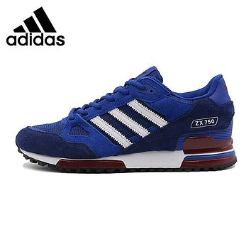 Original New Arrival  Adidas Originals ZX 750 Unisex Skateboarding Shoes Sneakers