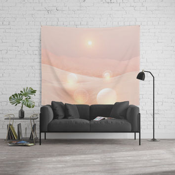 2077 landscape IV Wall Tapestry by vivianagonzlez
