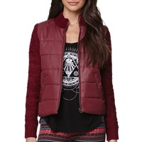 Billabong Chill Vibes Jacket - Womens Jacket - Red