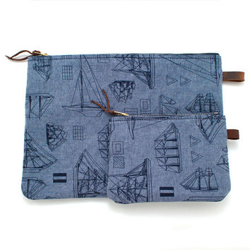 Ship to Shore Chambray Carryall