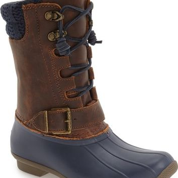 Sperry 'Saltwater - Misty' Waterproof Rain Boot (Women) | Nordstrom